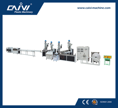 PEX-AL-PEX Over-lap Welding Pipe Production Line